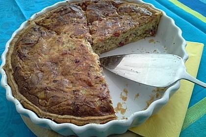 Schnelle Quiche Lorraine mit Blätterteig 2