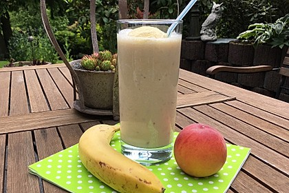 Bananen - Pfirsich - Milch (Bild)