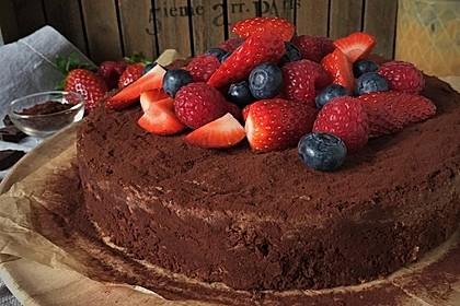 Der perfekte  Schokoladenkuchen 4