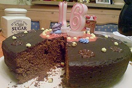 Der perfekte  Schokoladenkuchen 102