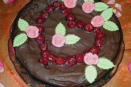 Der perfekte  Schokoladenkuchen 23