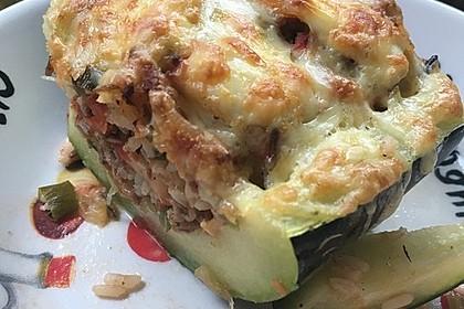 Zucchini mit Hackfleisch-Reisfüllung 20