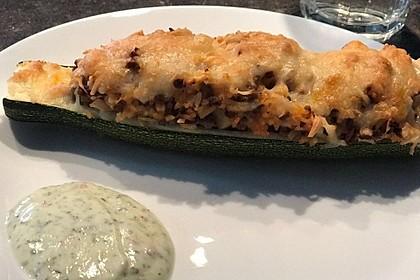 Zucchini mit Hackfleisch-Reisfüllung 24