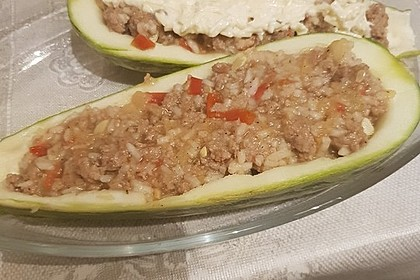 Zucchini mit Hackfleisch-Reisfüllung 28