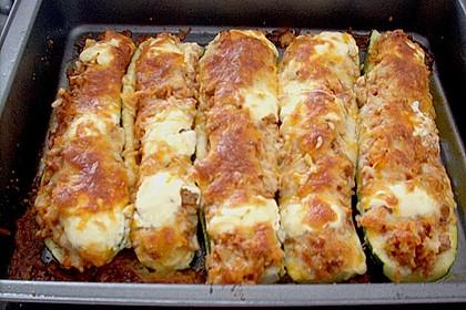 Zucchini mit Hackfleisch-Reisfüllung 12