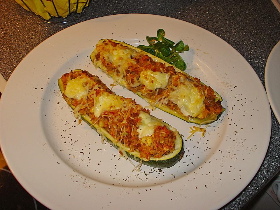 Sommergerichte Zucchini : Zucchini mit hackfleisch reisfüllung von k alexa chefkoch