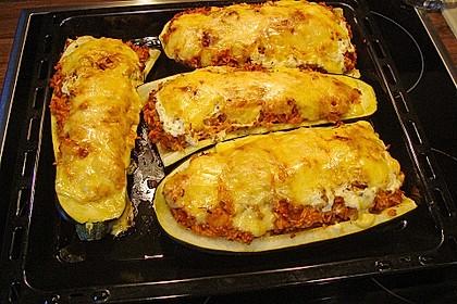 Zucchini mit Hackfleisch-Reisfüllung 9