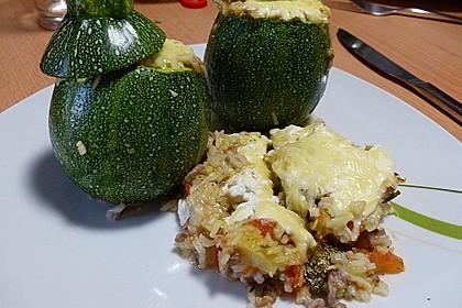 Zucchini mit Hackfleisch-Reisfüllung 7