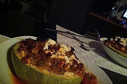 Zucchini mit Hackfleisch-Reisfüllung 13