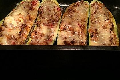 Zucchini mit Hackfleisch-Reisfüllung 3