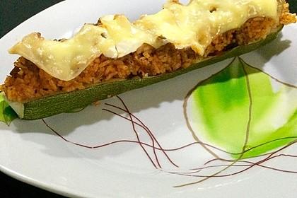 Zucchini mit Hackfleisch-Reisfüllung 16