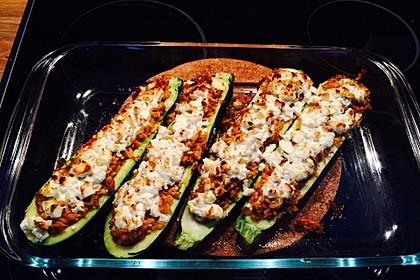 Zucchini mit Hackfleisch-Reisfüllung 10