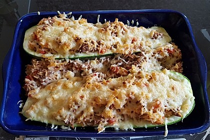 Zucchini mit Hackfleisch-Reisfüllung 15
