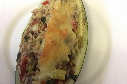 Zucchini mit Hackfleisch-Reisfüllung 32