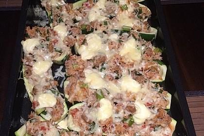 Zucchini mit Hackfleisch-Reisfüllung 39