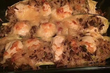 Zucchini mit Hackfleisch-Reisfüllung 43