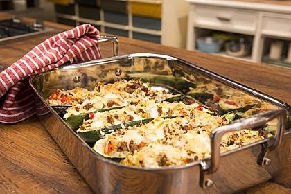 Zucchini mit Hackfleisch-Reisfüllung 1