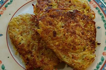 Fenchel - Kartoffel - Puffer (Bild)