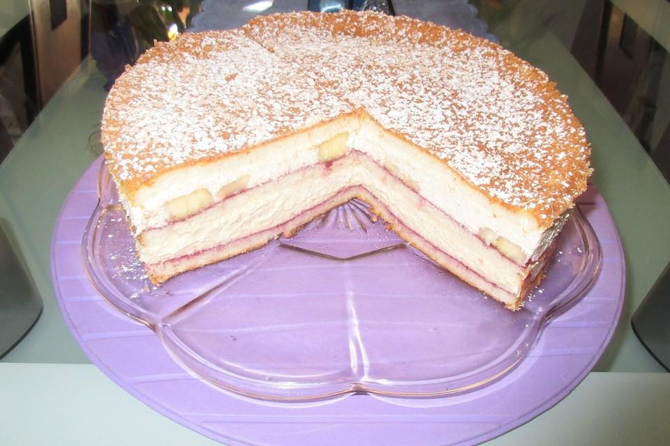 Apfelmus Sahne Torte Von Tammy Chefkoch De