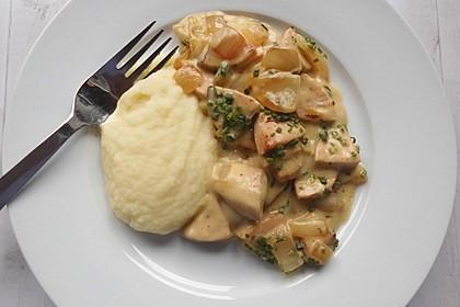 Fleischwurst - Zwiebel - Senf - Ragout 4