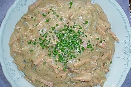 Fleischwurst - Zwiebel - Senf - Ragout 11