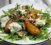 Rucolasalat mit Birne und Gorgonzola (Bild)