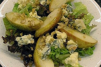 Rucolasalat mit Birne und Gorgonzola 2