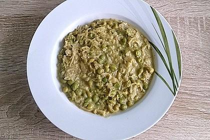 Erbsensuppe mit Sauerkraut