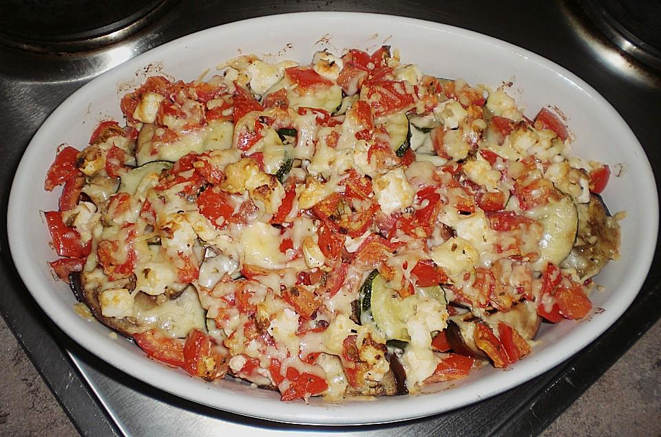 Auberginen Zucchini Auflauf Von Marina25 Chefkoch