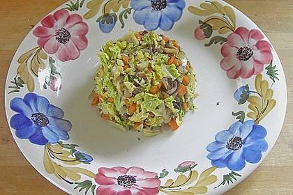 Wirsing - Pilz - Gemüse 2