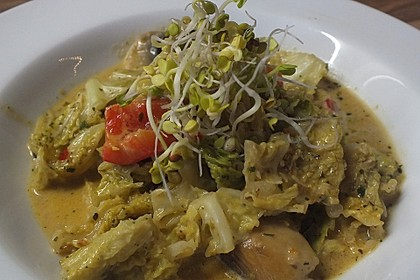Wirsing - Pilz - Gemüse