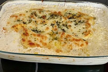 Kartoffelgratin mit Käse (Bild)