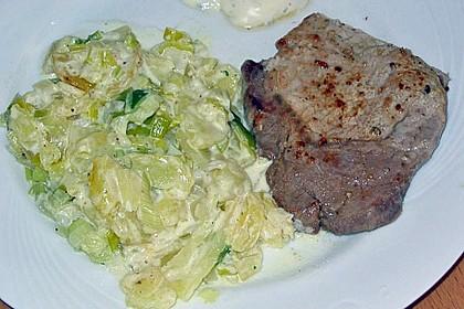 Kartoffelgratin mit Käse 39