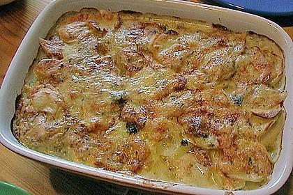 Kartoffelgratin mit Käse 21