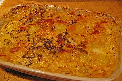 Kartoffelgratin mit Käse 35