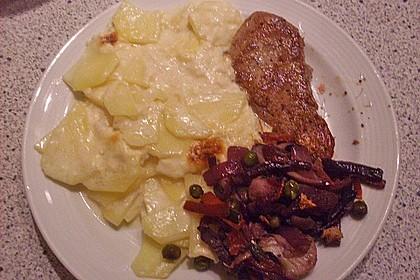 Kartoffelgratin mit Käse 28