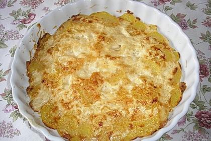 Kartoffelgratin mit Käse 15