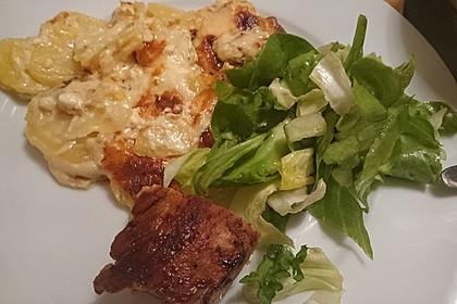 Kartoffelgratin mit Käse 7