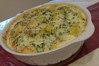 Kartoffelgratin mit Käse 3
