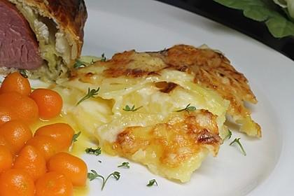 Kartoffelgratin mit Käse 1