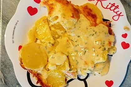 Kartoffelgratin mit Käse 13