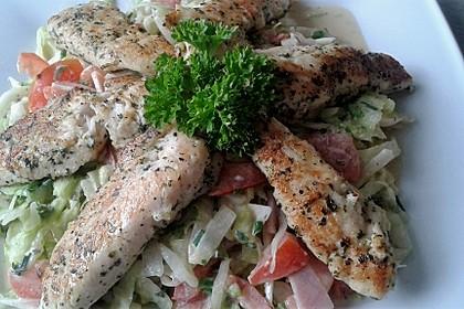 Italienischer Salat mit Hähnchenbrust 9