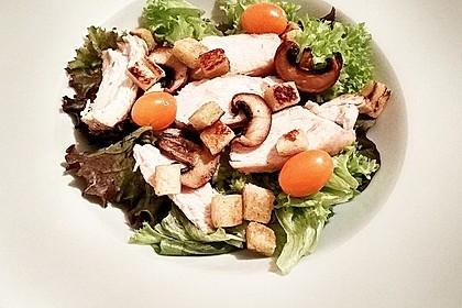 Italienischer Salat mit Hähnchenbrust 10