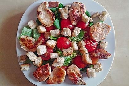 Italienischer Salat mit Hähnchenbrust 11
