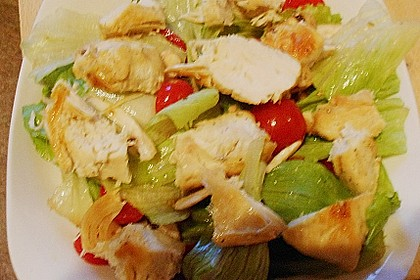 Italienischer Salat mit Hähnchenbrust 17