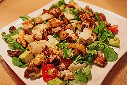 Italienischer Salat mit Hähnchenbrust 2