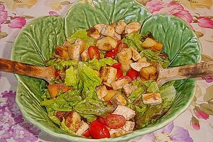 Italienischer Salat mit Hähnchenbrust 8
