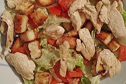 Italienischer Salat mit Hähnchenbrust 16