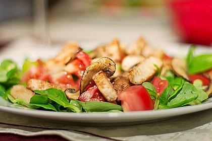 Italienischer Salat mit Hähnchenbrust 1