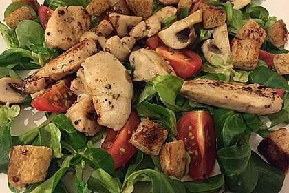 Italienischer Salat mit Hähnchenbrust 6